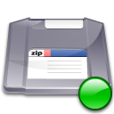 Device zip mount icon