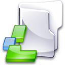 Filesystem folder lin icon