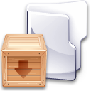 Filesystem folder tar icon