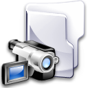 Filesystem folder video icon