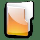 Filesystem folder yellow icon