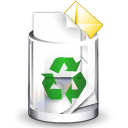 Filesystem trash full icon