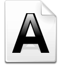 Mimetype applix icon