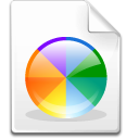 Mimetype color scm icon