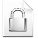 Mimetype encrypted icon