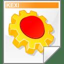 Mimetype kexi icon