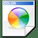 Mimetype mime colorset icon