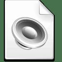 Mimetype sound icon