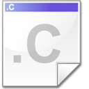 Mimetype source c icon