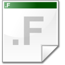 Mimetype source f icon