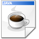 Mimetype source java icon
