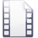 Mimetype video icon