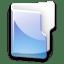 Filesystem-folder-blue icon