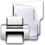Filesystem-folder-print icon