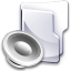 Filesystem folder sound icon
