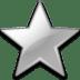 Action-bookmark-silver icon