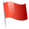 Action-flag icon