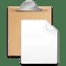 Action-paste icon