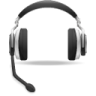 App-voice-support-headset icon