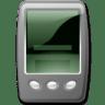Device-pda-black icon