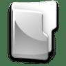 Filesystem-folder-grey icon