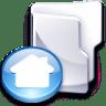 Filesystem-folder-home-3 icon