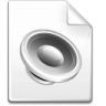 Mimetype-sound icon