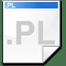 Mimetype-source-pl icon