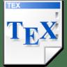 Mimetype-tex icon