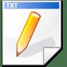 Mimetype-text-2 icon