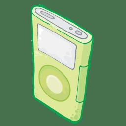 iPod Green icon