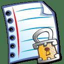File locked icon