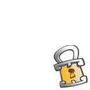 Lock overlay icon