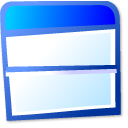 View top bottom icon