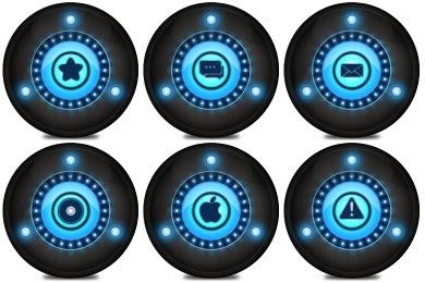 Galaxian Icons