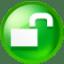 Circle-unlick icon