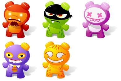 Art Toys 2 Icons