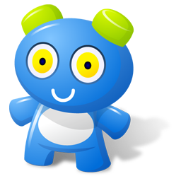 Blue Toy icon