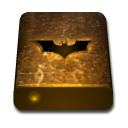 Bat drive texture orange icon