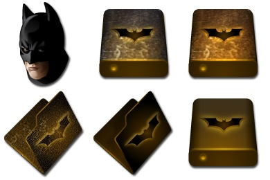 Batman Begins Icons