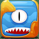 Blue-block icon