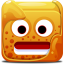 Orange block icon