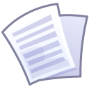 Files text icon