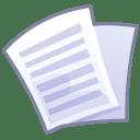Files text icon