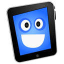 iPad happy icon