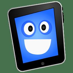 iPad happy icon