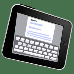 iPad write icon