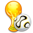 Trophy ball icon