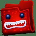 Red folder icon