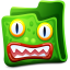 Green-folder icon
